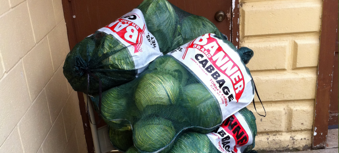 Donated Cabbage