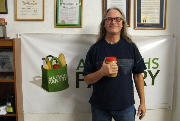 Peanut Butter Drive to fill the shelves of the All Faiths Pantry