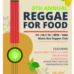 8th Annual Reggae for Food