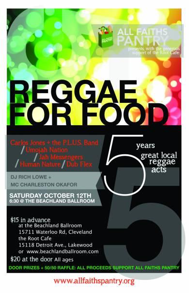 Reggae for Food 2013