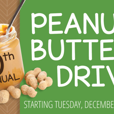 10th Annual Peanut Butter Drive