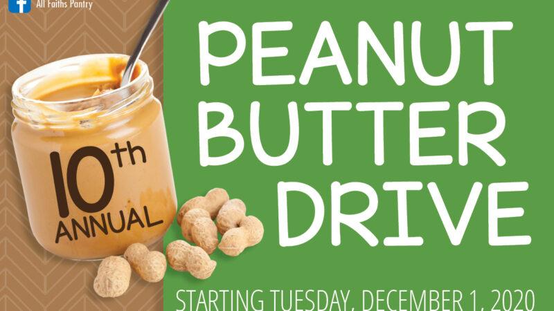 10th Annual Peanut Butter Drive
